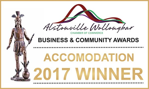Alstonville Wollongbar Accommodation Winner