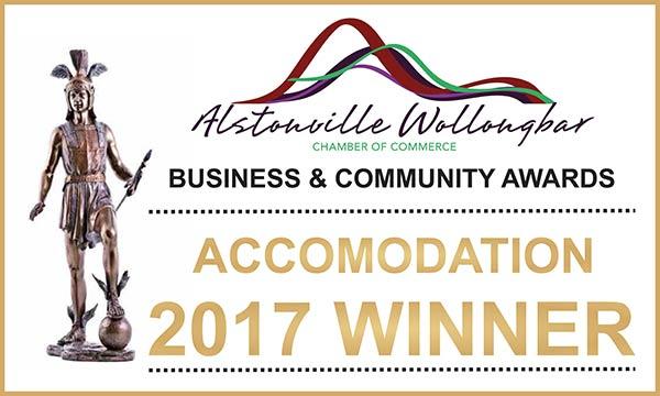 Alstonville Wollongbar Accommodation Winner