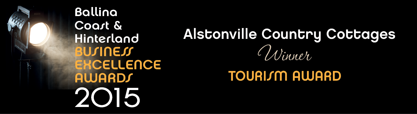 Alstonville Country Cottages awards